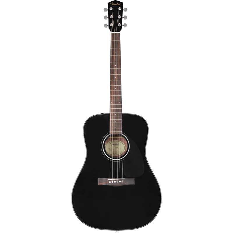 Fender CD-60 Dreadnaught V3 Black