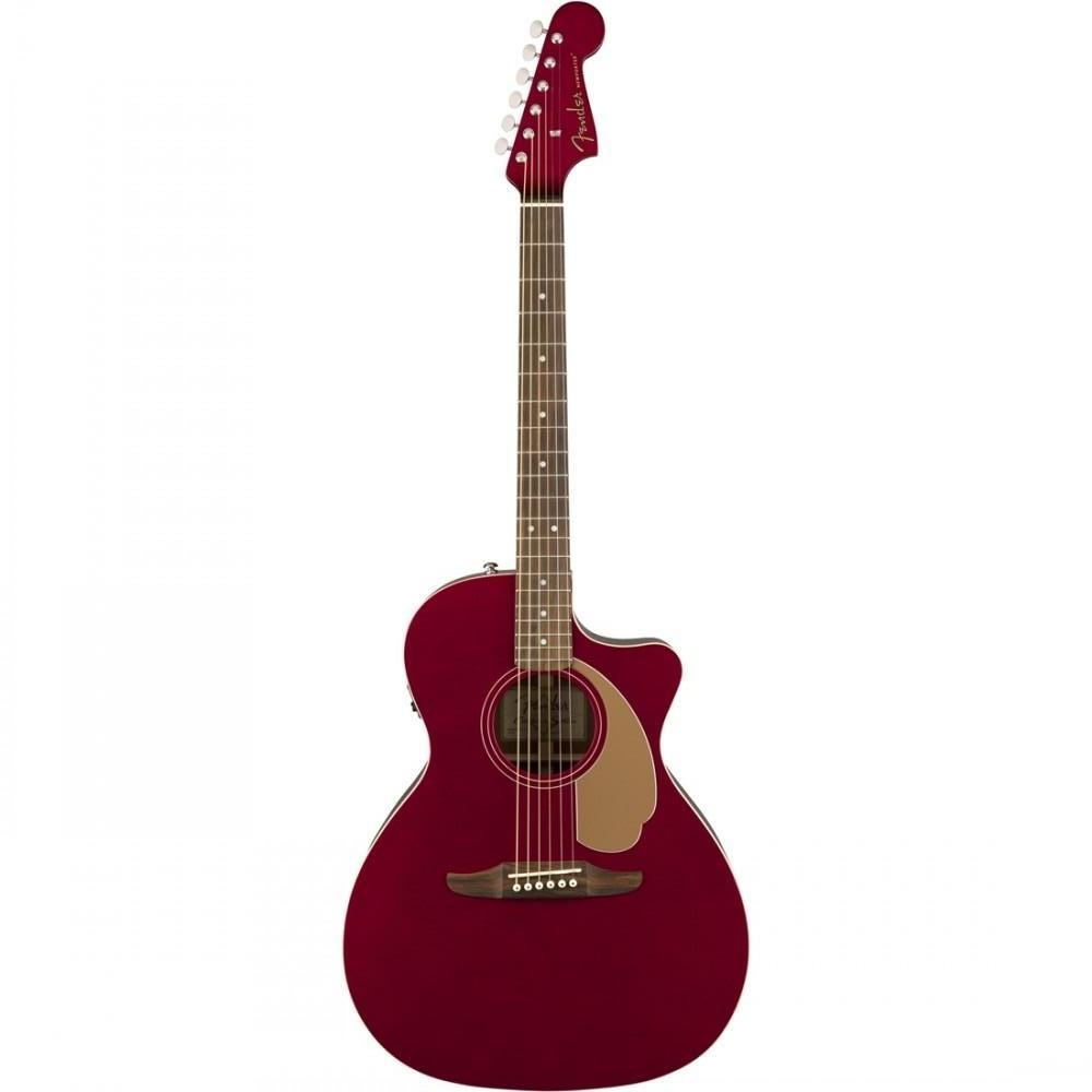 Fender California Player Newporter Candy Apple Red