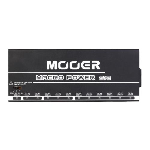 Mooer Macropower S12 Pedal Power Supply