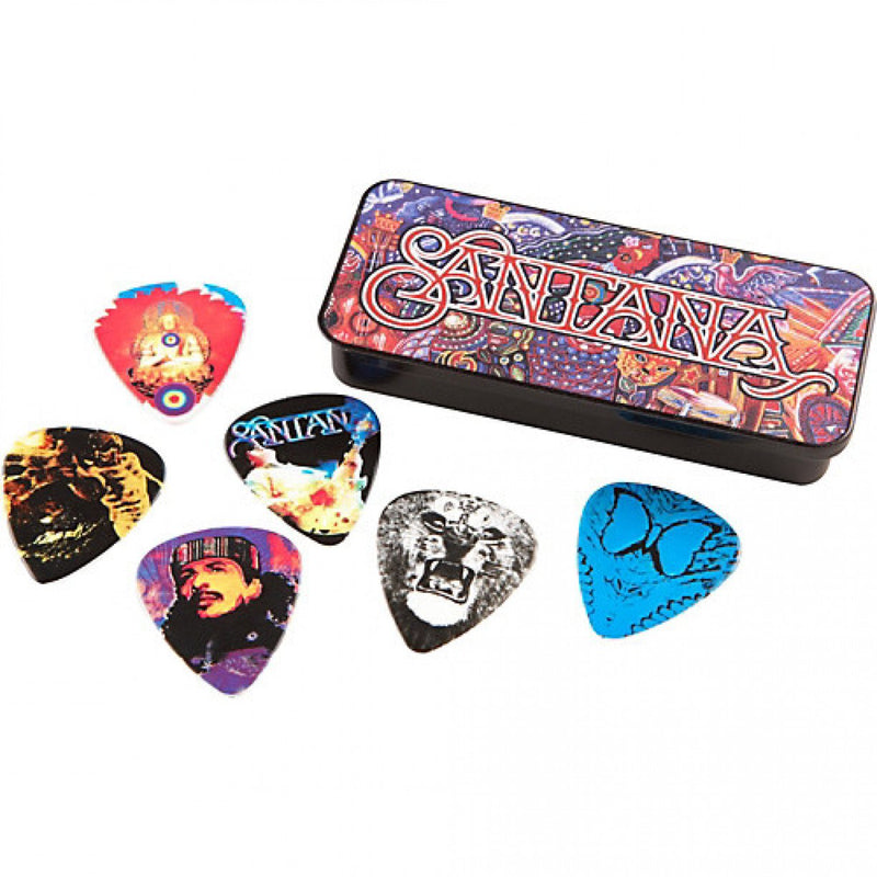 Jim Dunlop Santana Pick Tin Heavy