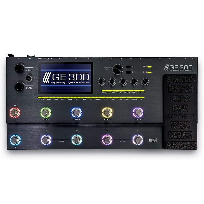 Mooer GE300 Amp Modelling Synth and Multi Effects