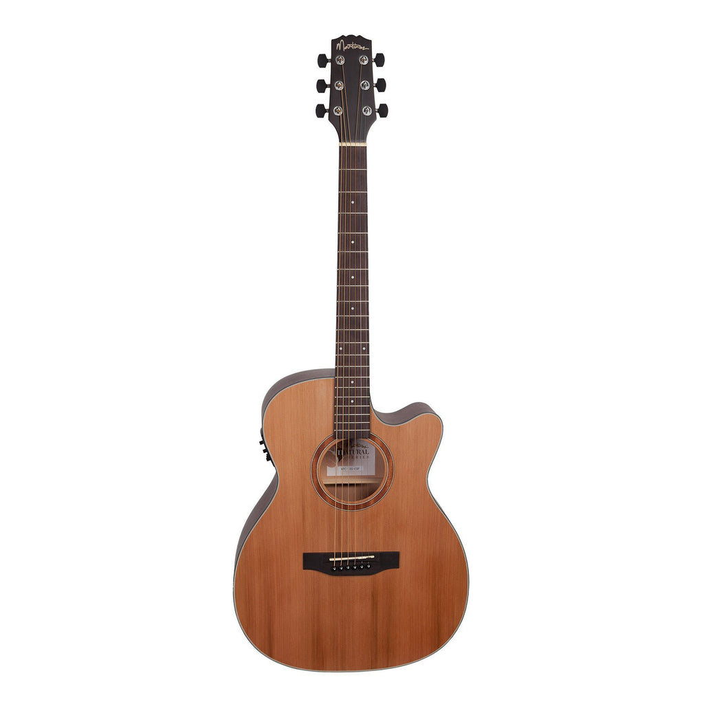 Martinez Natural Series Solid Cedar Top Small Body Acoustic
