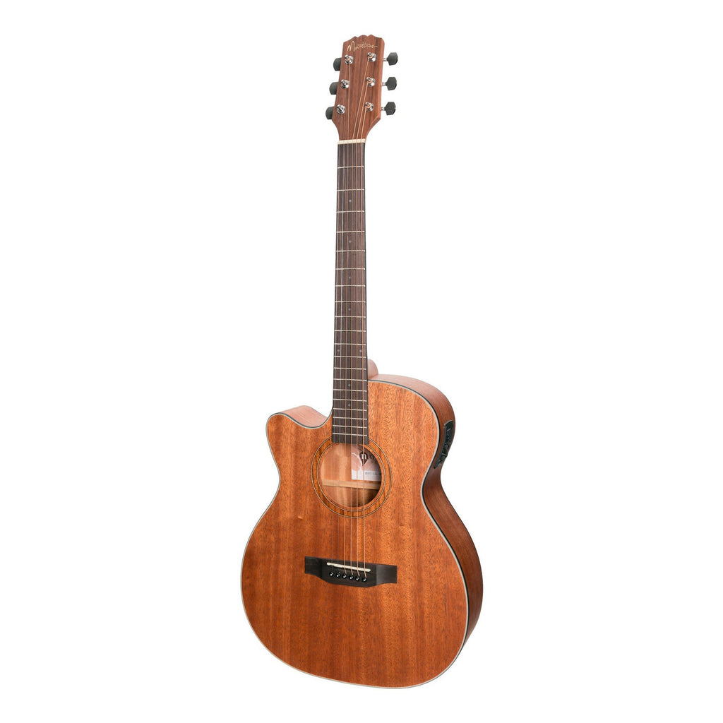 Martinez Natural Series Solid Top Mahogany Left hand Acoustic.