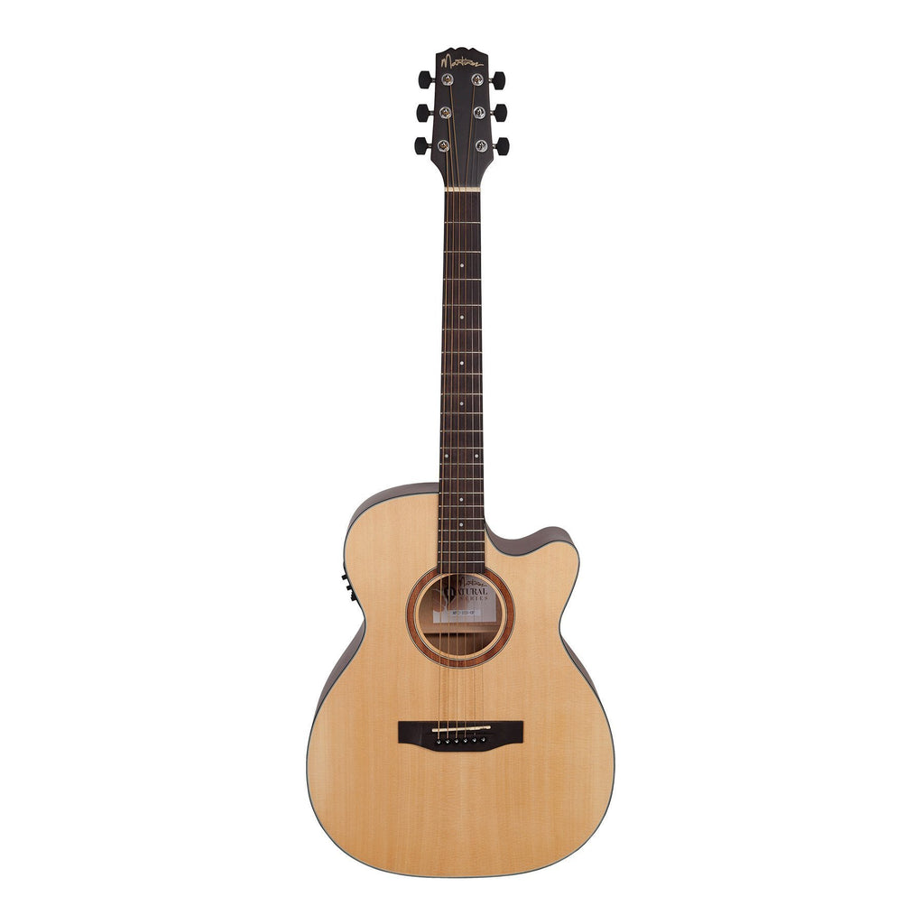 Martinez Natural Series Solid Spruce Top Small Body Acoustic