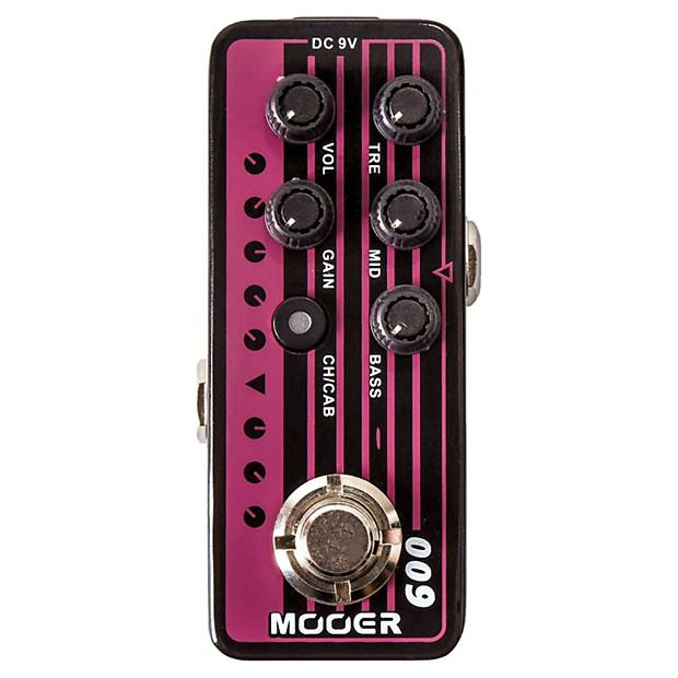 Mooer Blacknight Micro Preamp Pedal
