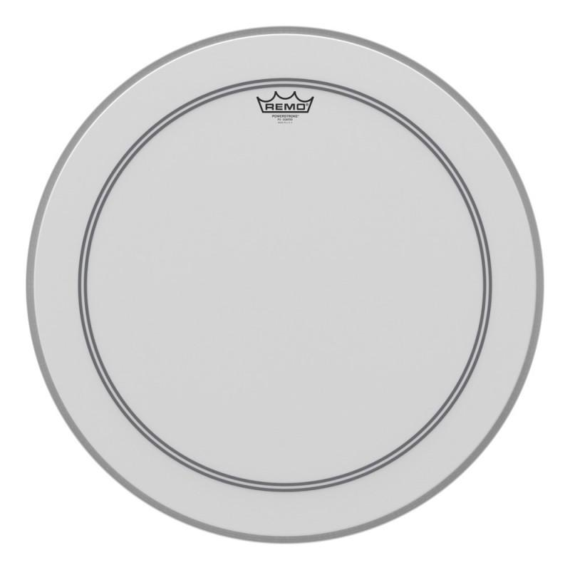 Remo 22 inch Powerstroke 3 Coated Bass Drum Head