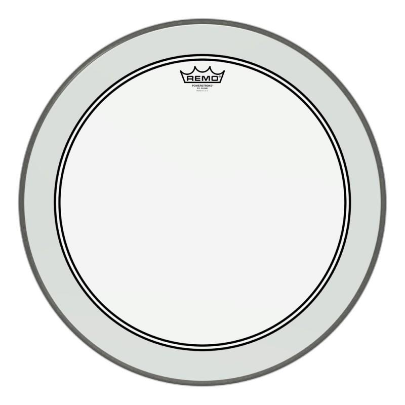 Remo 22 inch Powerstroke 3 Clear Bass Drum Head