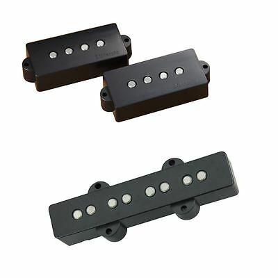 Dimarzio Area P and J Bass Pickup Set