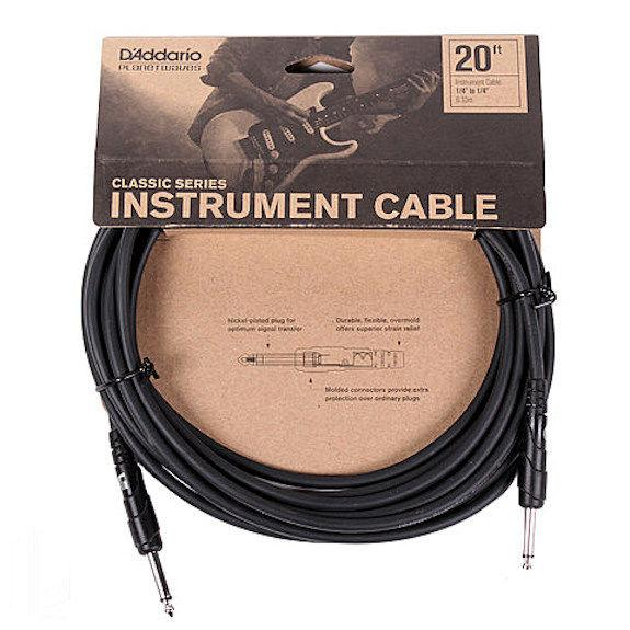 D'Addario 20 foot Classic Series Instrument Cable