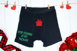 Christmas Package Boxers