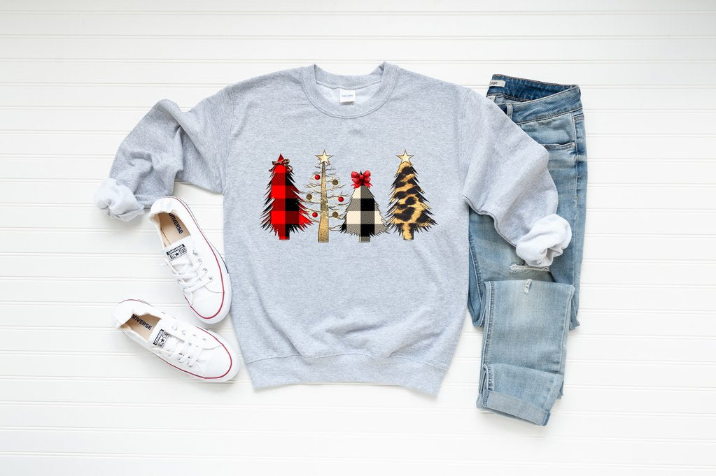 Wild Christmas Tree Sweatshirt