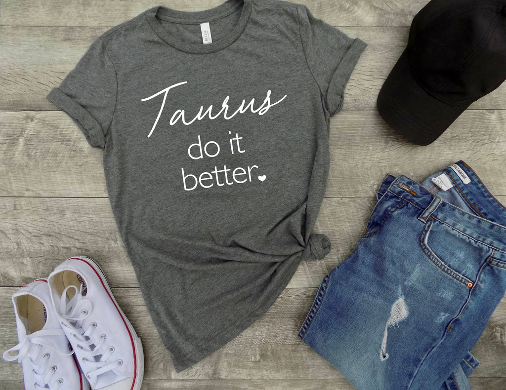 Taurus shirt, Taurus zodiac sign shirt, Taurus sign shirt, Taurus birthday gift, gift idea, gift for Taurus, birthday gift, zodiac tee