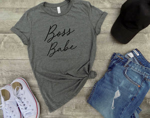 Boss babe shirt - boss babe tee - shirt for girl boss - women boss shirt - women boss babe tee - gift for her - gift for wife - gift idea