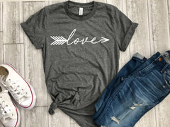 love shirt - valentines day shirt - womens love shirt - love tee  - valentines day gift - gift for her - womens shirt