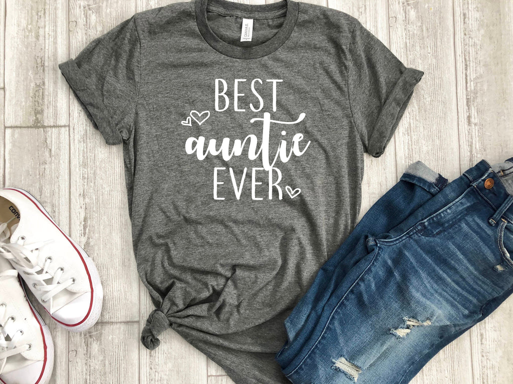 Christmas gift for aunt, Best auntie ever shirt, Auntie shirt, Xmas  gift for Auntie, Auntie tee, Gift for aunt , Gift ideas b-day gift