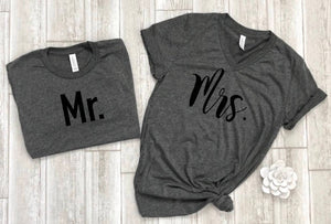 couples shirts, wife husband shirts, honeymoon shirts, newlywed shirts, couples shirt, bride shirts, groom shirts, gift for couple