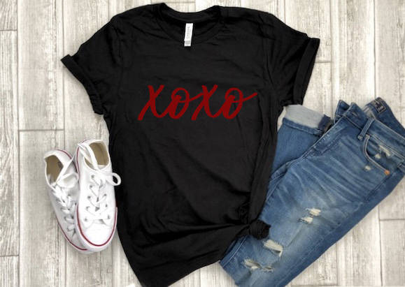 xoxo shirt - womens valentine shrit - valentines day shirt - buffalo plaid xoxo shirt  - valentines day gift - gift for her