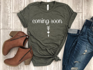 Pregnancy Announcement Tee - Mom To Be Shirt - Gift For Mom To Be - Baby Shower Gift - Mom To Be Tee - Pregnancy Reveal Tee - Pregnancy tee