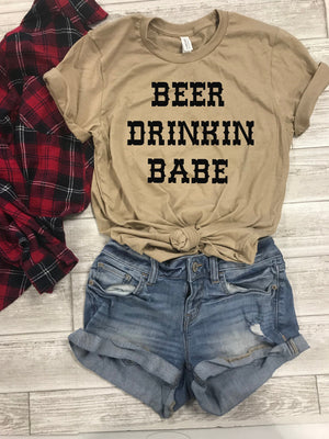 Country fest shirts, beer drinking babe shirt, southern vibes, country fest shirts, country fest tees, country music festival, music fest,