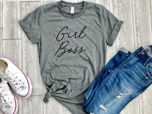 gift for boss, girl Boss shirt - girl boss tee - shirt for girl boss - women boss shirt - women boss tee - gift for her - gift for wife