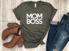 mothers day tee - shirt for mom - funny mom tee - mom tshirt - mom boss - mom gift - gift for her - mothers day gift - gift for wife