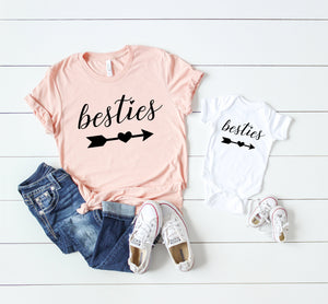 Mommy and me shirt, Cute mommy and me t-shirts, Mommy and me tees, matching mommy and me tees, mother and baby set, mommy and me set,