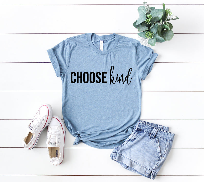 Choose kind shirt, kind shirt, be kind shirt, kind tee, positive shirt, positive vibes shirt, good vibes only shirt, kindness shirt