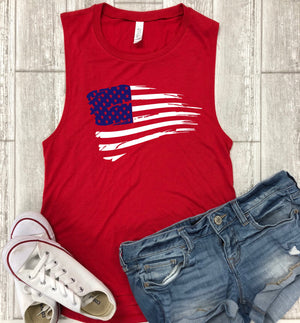 4th of July shrit - american flag clothing - festival clothing - flag shirts - merica shirt - 4th of july outfit - distressed - us flag