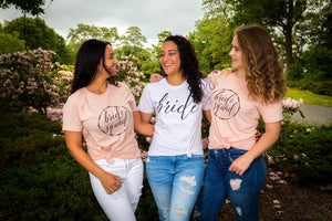 bride squad shirts - bridesmaid shirts -  bride shirt - women bridal shirts - bridal party shirts - bachelorette party shirts  - bridal gift