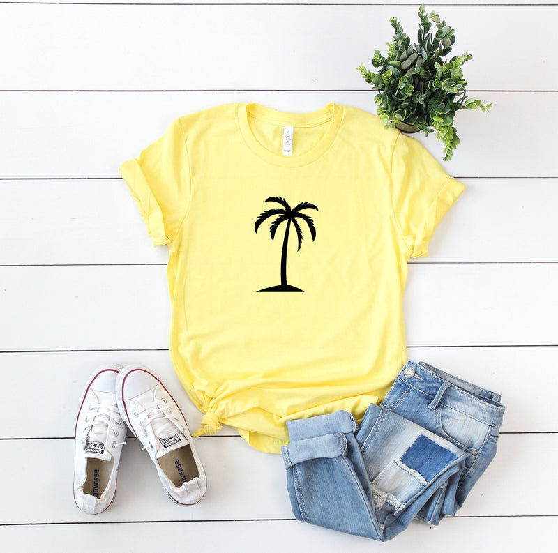 palm tree shirt  - summer shirt - women's vacation shirt - vacation shirt women - vacation vibes shirt - vacay vibes - vacay mode