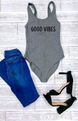 Good vibes, Women's good vibes tops, Cute women's bodysuit, Cute women's outfit, women's bodysuit, cute summer outfit, going out outfits