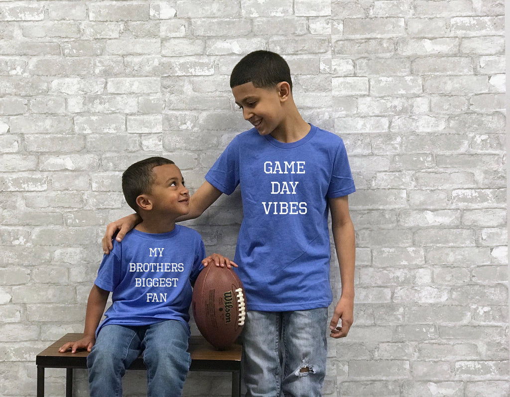 big brother biggest fan shirt, sports sibling shirts, brother tees, brother gifts, shirts for brothers, tees for brothers, gift for boys