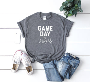 game day vibes, Womens football shirt, football shirt, womens football tee, cute football shir, sunday football shirt, cute womens football