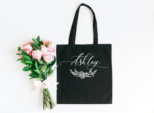 Bridesmaid tote, personalized bridesmaid gift, bridesmaid tote bag, bridesmaid bag, bridal tote, bridesmaid gift, bridal party tote