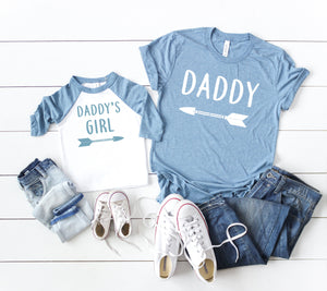 dad and daughter shirts, gift for father, daddy and me matching set, dad and daughter matching, daddy and me tees, dad's bday gift