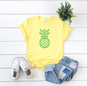 pineapple shirt, pineapple tank, summer shirt, beach tank, pineapple, summer tank, beach vacation tank, beach day tank, summer birthday gift
