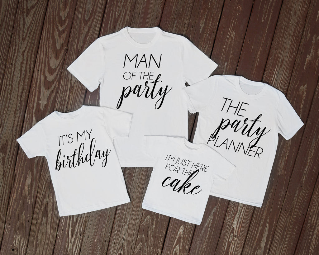 matching family birthday shirts, birthday family shirts, birthday party shirts, theme birthday party shirts, family birthday shirts,