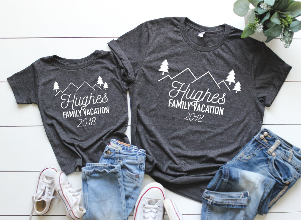 Custom Family vacation shirts, Family camping shirts, Family Vacation tees, Family vacation, Matching family vacation t-shirts, group shirt