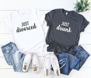 just divorced shirt - divorce support shirts - divorce party shirts - divorce vacation shirts - divorce announcement shirt - divorce party