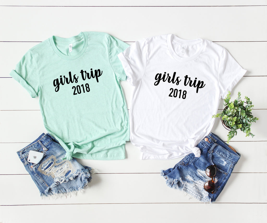 girls trip shirts - girls trip tees - shirts for girls getaway - getaway shirts - vacation shirts - girls vacation shirts - women shirt
