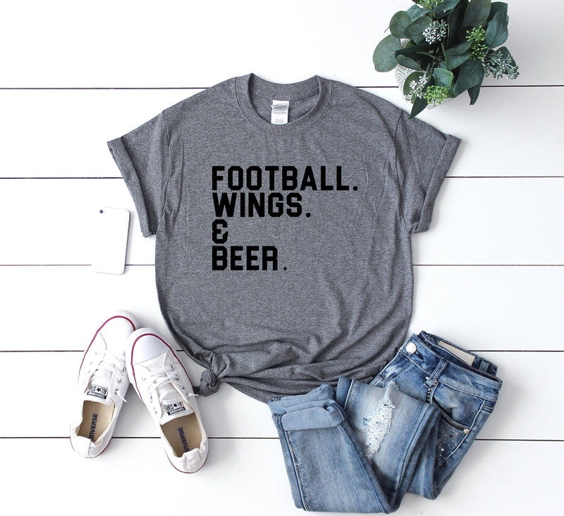Womens football shirt, football shirt, womens football tee, cute football shirt, game day shirt, sunday football shirt, cute womens football