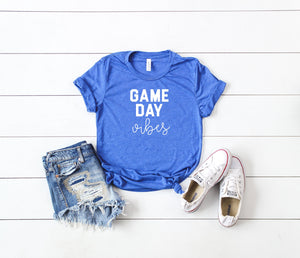 game day vibes, Womens football shirt, football shirt, womens football tee, cute football shirt, sunday football shirt, cute womens football