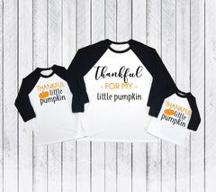Mommy and me fall shirts, fall matching shirts, Thankful and blessed, Thanksgiving matching shirts, mommy and me shirt, mommy and me fall