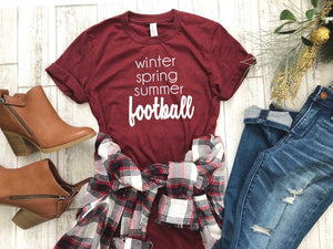 football season shirt, Women's football shirt, football shirt, women's football tee, Sunday football shirt, cute women's football