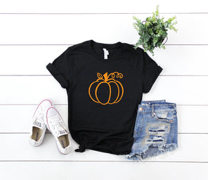Halloween top- Shirt for halloween party- Pumpkin shirt- Cute Women's halloween shirt - Halloween costume shirt - Cute halloween outfit