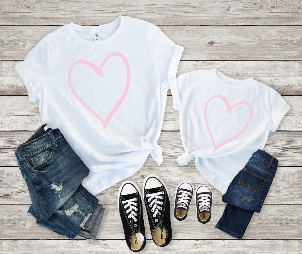 Mommy and me Valentines shirt - Matching valentines shirt -mom and daughter valentines day shirt - mommy and me