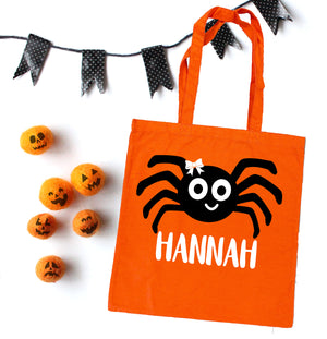 custom halloween bag, personalized halloween bag, trick or treat bags, personalized halloween bag, personalized trick or treat bags
