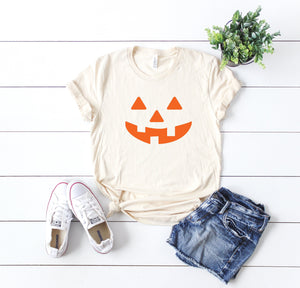 Cute halloween outfit- Jack- O-lantern shirt- Women's halloween shirt- halloween costume shirt - Pumpkin shirt- Women's funny halloween top