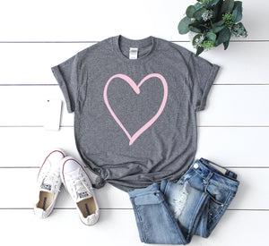 Cute women's Valentine top-Valentines day shirt- Love shirt- Shirt for valentines day- Valentines day outfit