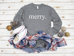 Merry shirt, Cute women's Christmas shirt,Merry Christmas shirt,Cute Xmas shirt, Women's Christmas top,Holiday shirt,Black Friday top